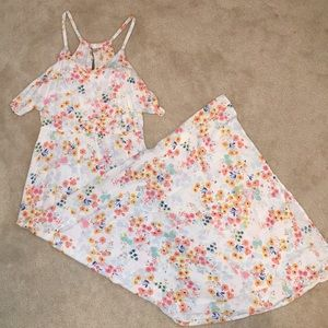 LC Lauren Conrad - Floral Maxi Dress Size S